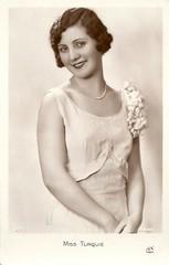Miss Turkey 1931 (Truus, Bob & Jan too!) Tags: beauty fashion female vintage 1930s postcard contest moda beauté miss pageant concours mode bellezza schönheit wettbewerb feminin concorso weiblich femminile misseurope