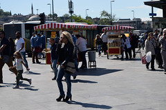 Conversation, Eminonu, Istanbul (D. P. S.) Tags: street girl istanbul eminonu