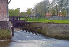 Watermolen Hoogstraten (peterkleeren) Tags: motion blur river landscape nikon long exposure wandelen mark fietsen kempen vlaanderen watermolen d600 marck toerisme hoogstraten