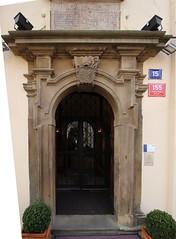 Praha, HR, p. 155 (ladabar) Tags: prague prag praha portal portl pragdetail