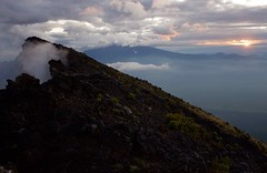 Sunrise on Nyiragongo (shannon.orcutt) Tags: sunrise congo drc nyiragongo mtnyiragongo