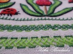 KikaBordados Kika  Krauss 128 (Kika Bordados by Angelica Krauss) Tags: flowers flores frutas fruits branco cores crochet craft bordados bordado croche panosdepratos bordadosfeitomo kikabordadoskikakrauss