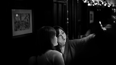 pouty (Rob-Shanghai) Tags: china leica girls people 50mm pub shanghai bokeh candid drinks pout lux pouty selfie
