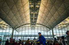 Go To Check-in - Tung Chung, Hong Kong (, ) (dlau Photography) Tags: life city travel vacation people urban airport lifestyle style indoor terminal tourist hong kong international  visitor soe checkin chung tung