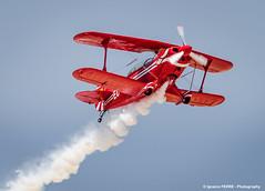Pitts S2A Special (Ignacio Ferre) Tags: madrid red rojo nikon aircraft airshow avin fio acrobatic lecu cuatrovientos acrobtico fundacininfantedeorleans pittss2aspecial infantedeorleansfoundation