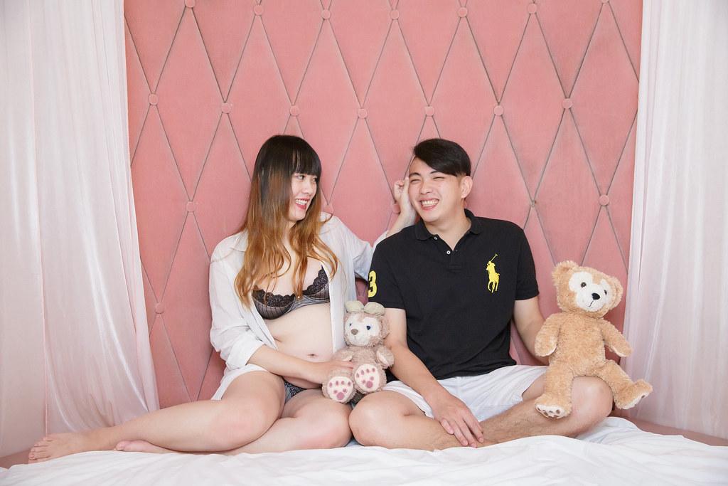 孕婦寫真,孕婦攝影,旅館孕婦,眷村孕婦,阿財&小八007
