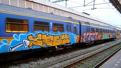 Graffiti Archives (oerendhard1) Tags: urban streetart art train graffiti bars painted vandalism dust seas mach