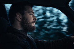 snow patrol (Individual Eleven) Tags: portrait snow car beard ride e30 drift