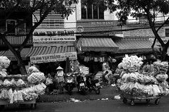 . (Out to Lunch) Tags: street houses blackandwhite monochrome shop architecture outdoors cosina traditional voigtlander wide super scene epson heliar 4515 earthasia rd1x