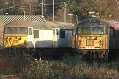 56032 56077 (Rob390029) Tags: station train grey track diesel leicester tracks rail railway loco trains class lei rails locomotive 56 midland locomotives locos mainline tmd mml 56032 56077 loadhaul fertis ukrl