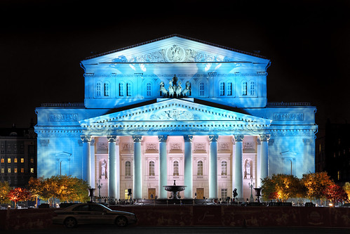 The Bolshoi Theatre © Petr Ushanov