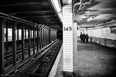 New York's Metro (Sett64) Tags: travel blackandwhite newyork underground subway metro tube viaggi biancoenero 2016