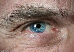 Kijklens (Emil de Jong - Kijklens) Tags: people macro eye closeup blauw close makro closup oog selfie macrodreams dicjtbij