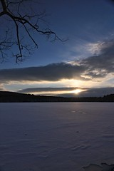 2016_0206Sunset0003 (maineman152 (Lou)) Tags: sunset sky cloud sun lake nature clouds skyscape landscape frozen pond maine february sunrays frozenover wintersky frozenlake skyview naturephotography winterscene skyscene landscapephotography naturephoto skycolor skycolors skydrama westpond landscapephoto