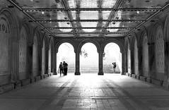 Bethesda Terrace - Central Park (frankiefotocpa) Tags: park city nyc newyorkcity bw newyork beautiful photography nikon centralpark capture urbanphotography centralparknyc cityphotography nikonphotography newyorkphotography nycphotography newyorkcityphotography parkphotography affinityphoto