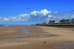 Beach at Blackpool (Tony Worrall) Tags: county uk sea england english beach town nice stream tour open place northwest cove sandy country north visit scene location tony lancashire resort coastal area northern update seashore blackpool attraction lancs fylde fyldecoast worrall welovethenorth ©2016 ©2016tonyworrall