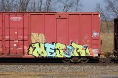 Mejor (quiet-silence) Tags: railroad art train graffiti railcar boxcar graff freight tr tvc mejor rtd fr8 boxstarz