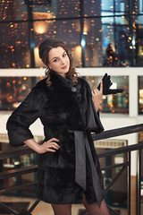 Kakotkin_com_250116_0000 (rkakotkin) Tags: winter snow cold girl night fur russia coat newyear mink tver beautifulgirls russiangirl minkcoat