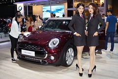 MINI Clubman with beautiful, sexy presenters at the 32nd Thailand International Motor Expo at IMPACT Challenger in Muang Thong Thani, Nonthaburi (UweBKK ( 77 on )) Tags: auto show girls woman sexy cars beautiful beauty fashion thailand hall women asia dress expo bangkok sony models style mini automotive exhibition event international thong impact motor southeast alpha dslr thani 77 32 challenger slt 32nd clubman presenters muang nonthaburi
