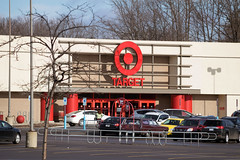 Updated Target Entrance (Nicholas Eckhart) Tags: usa retail mi america mall us michigan detroit center taylor target stores southland 2015 discountstore southlandcenter