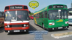 GWR TODDINGTON BUS RALLY 2013 LEYLAND NATIONAL 2 BUH 240V  KHT 122P 14072013 (MATT WILLIS VIDEO PRODUCTIONS) Tags: 2 bus buh rally national leyland 240v gwr toddington 2013 kht 122p 14072013