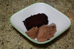 Dessert! (Vegan) (Vegan Butterfly) Tags: food ice cake dessert milk vegan yummy sweet coconut chocolate cream tasty bowl delicious vegetarian dairy alternative nondairy