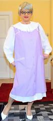 Ingrid021355 (ingrid_bach61) Tags: skirt blouse mature overall bluse pleated kittel faltenrock