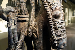 Olowe of Ise, Veranda Post, before 1938 (profzucker) Tags: veranda nigeria ise metropolitanmuseumofart yoruba olowe