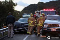 Windy Gap TC (zwarburg) Tags: chp amr sanmarcospass californiahighwaypatrol americanmedicalresponse highway154 vehicleaccident vehiclerollover vehiclecrash sbcofd santabarbaracountyfiredepartment sbcfd