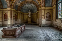 mausoleum 2.0 (MMGrafix) Tags: road camera old trip light urban color art abandoned rotting beautiful beauty grave architecture germany dayofthedead death photo still interesting nikon europe die photographer shadows silent darkness dynamic decay live empty exploring awesome explorer gothic ruin corridor atmosphere indoor tags beta best adventure forgotten processing architektur rusting waste exploration schloss derelict retouching gebude decayed saal verlassen buillding urbex disappear verfall rework interetingness