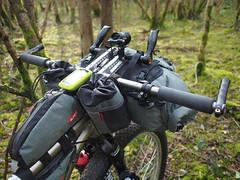 Apidura and Alpkit (South Downs MTB Skills) Tags: exposure rusty 29 titanium revo travers gorillacage bikepacking alpkit tourdivide apidura freeparable
