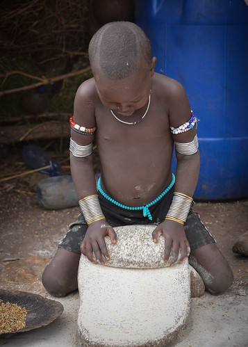 Little Mursi Girl
