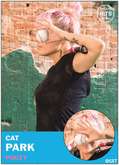 Cat Park of Pouty (Scott Troyan) Tags: usa philadelphia pa philly pouty baseballcards catpark scotttroyan everybodyhits
