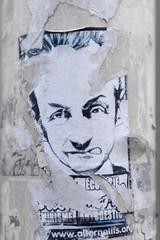 anonyme (Sbastien Casters) Tags: street streetart paris france graffiti sticker f sarkozy graffitis sarko