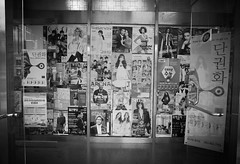 posters on a wall in Iksan (noodlepie) Tags: korea posters ricoh iksan grd grd3 grdiii