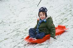 Winter sports (bigalid) Tags: winter snow film 35mm nikon january nikkor sledge dumfries 2016 c41 f55 afd 3580mm afnikkor lomography400cn