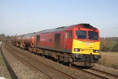 60019 @ Charfield 28/01/2016 [6B13] (MattWardrobe) Tags: port db class and 60 grimsby schenker immingham westerleigh sidings 0500 murco of 60019 6b13 robeston 280116