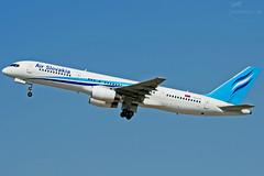 Boeing 757 OM-ASB (airliners.sk, o.z.) Tags: gm air slovakia boeing pm takeoff bratislava bts svk mrstefanik 757236 lzib omasb airlinerssk btslzib