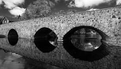 Stone Bridge (Rosemary.999) Tags: bridge bw ontario canada landscape nikon d750 monochrone