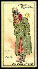 Cigarette Card - Codlin (cigcardpix) Tags: vintage advertising ephemera caricature dickens cigarettecards