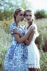 Sisters III (Daniela Majic) Tags: girls art beauty fashion sisters magazine flickr fineart dreams editorial conceptual flickrblog danielamajic