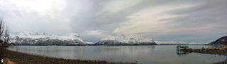 the beauty of Arctic twilight