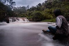 Rio San Pedro (edu_420) Tags: ro quito agua arboles paisaje tarde roca exposicion larga orilla amaguaa