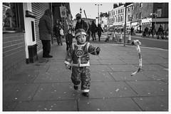 (john g (Birkenhead UK)) Tags: street leica boy bw cute zeiss liverpool mono costume chinatown candid chinese newyear celebration monochrom f8 25mm biogon m246 vscotrixfilmpack