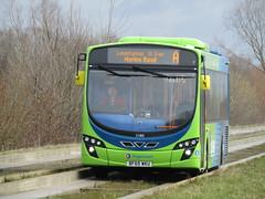 BF65 WKU (markkirk85) Tags: new bus buses volvo east wright stagecoach 21305 wku cambus 122015 bf65 b8rle bf65wku