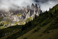 TOUR DU MONT-BLANC - monte vers le col du Bonhomme (1) (mgirard011) Tags: france europe fr lieux tourdumontblanc rhnealpes randonnes 300faves lescontaminesmontjoie