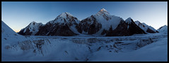 First light in the Upper Inylchek (doug k of sky) Tags: republic doug tian glacier khan kyrgyz shan kyrgyzstan tien tengri inylchek mountainscapes engilchek kofsky