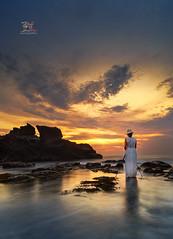 The Wanderer (Jose Hamra Images) Tags: sunset bali sunrise indonesia landscape denpasar canggu karangbolong melasti