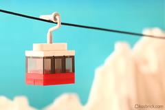 Ski Lift Gondola (kosbrick) Tags: ski lift lego gondola moc npu paintroller ironbuilder