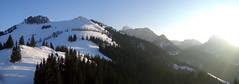 Late Afternoon (bookhouse boy) Tags: schnee winter snow mountains alps berge alpen 2016 brannenburg farrenpoint mitterberg bayerischevoralpen schuhbräualm schlipfgrubalm sagbruck 17märz2016